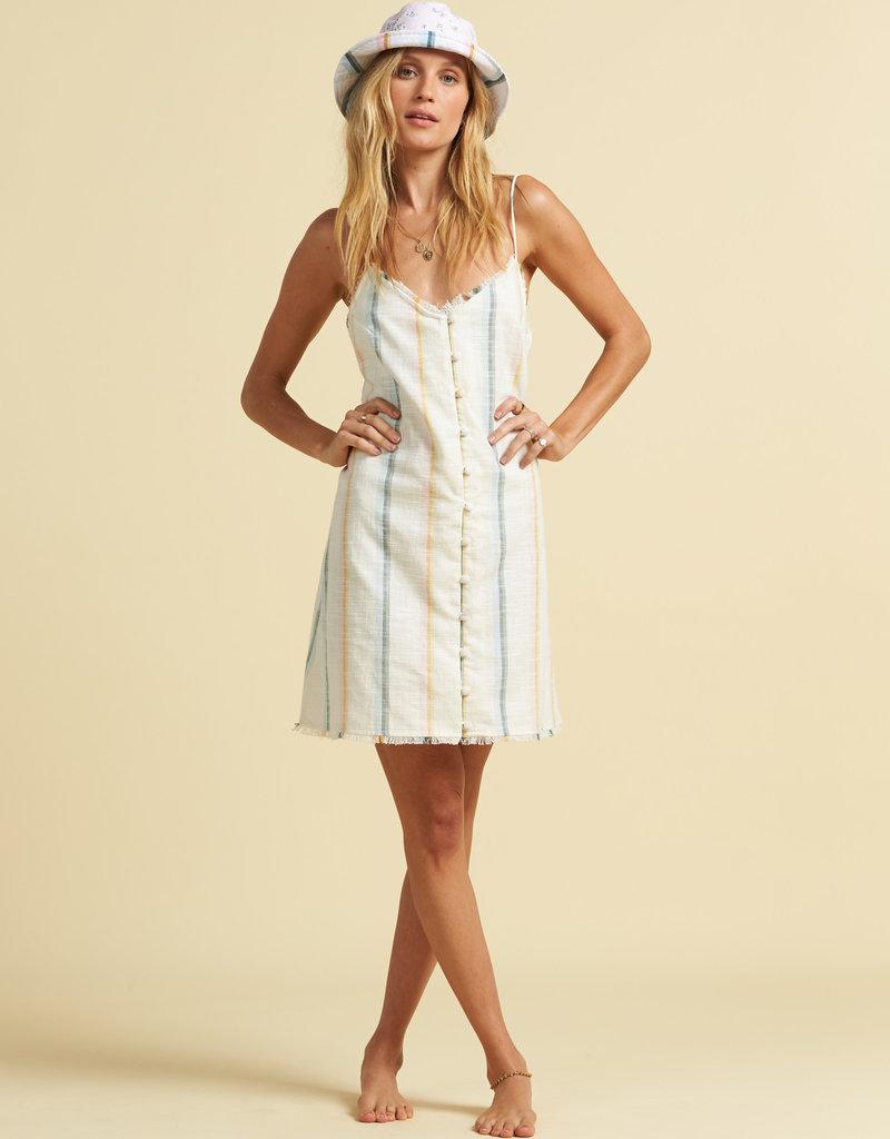 Billabong Billabong x The Salty Blonde Sunny Stripes Dress