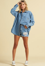 Billabong Billabong x The Salty Blonde Feeling Salty Denim Shirt