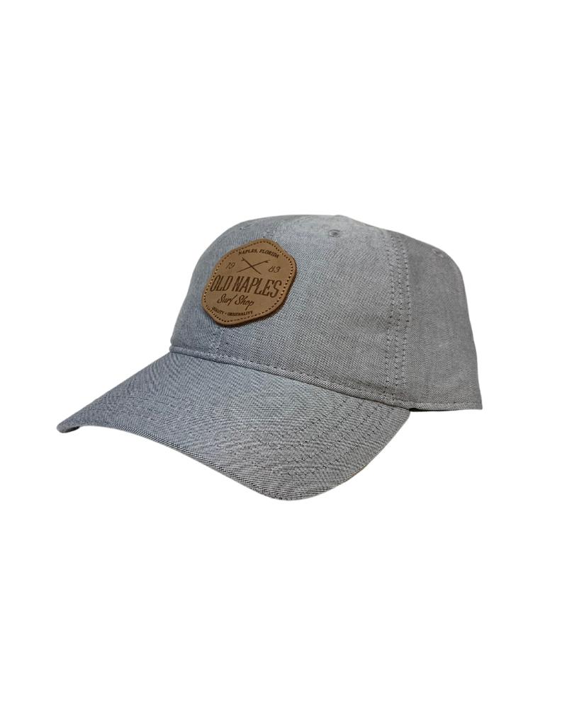 Old Naples Surf Shop ONSS Original Leather Patch Hat