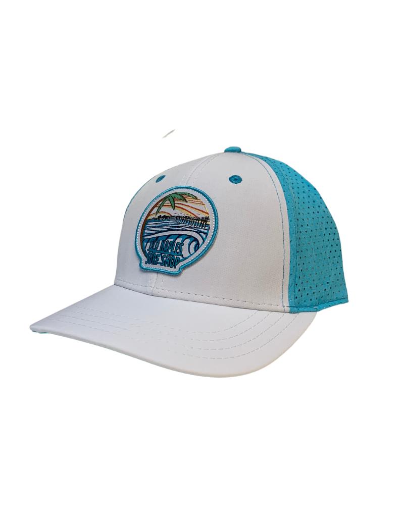 Old Naples Surf Shop ONSS Sunset Wave Tech Hat