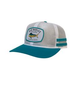 Old Naples Surf Shop ONSS Mahi Mesh Trucker Hat