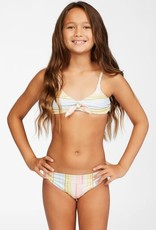 Billabong Billabong Girls Stoked On Sunny Hanky Tie Bikini Set