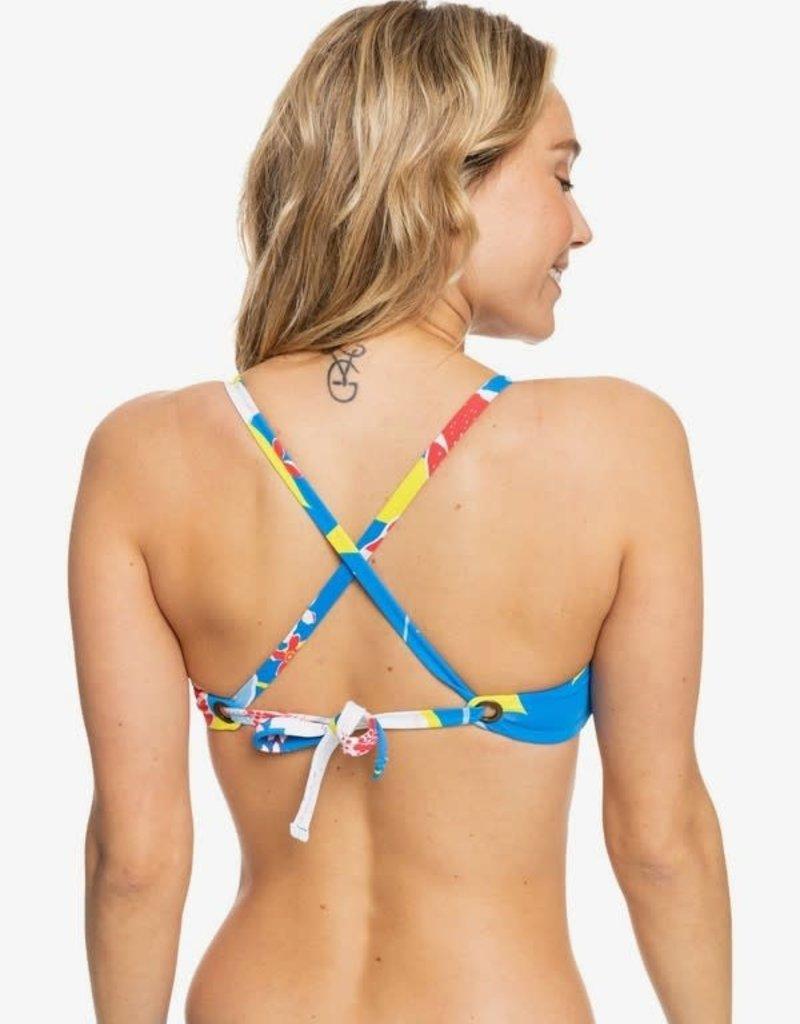 Roxy Roxy She Just Shines Triangle Bikini Top