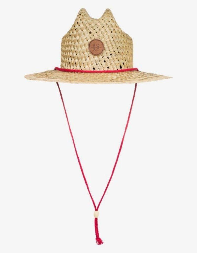 Roxy Roxy Sunshine On My Mind Straw Sun Hat