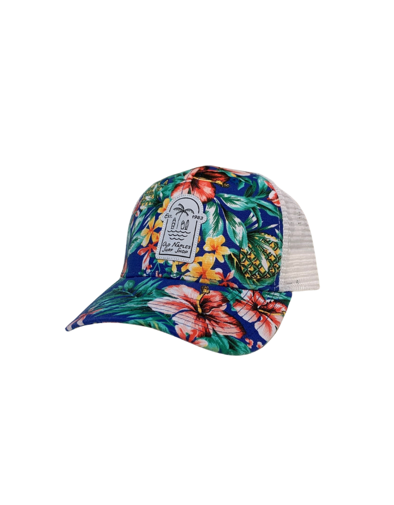 Old Naples Surf Shop ONSS Under the Palm Trucker Hat