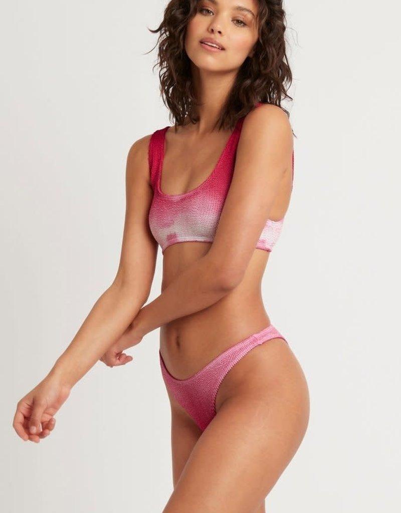 Bond-Eye Australia BOUND by Bond-Eye Ombre Malibu Ribbed Bikini Top