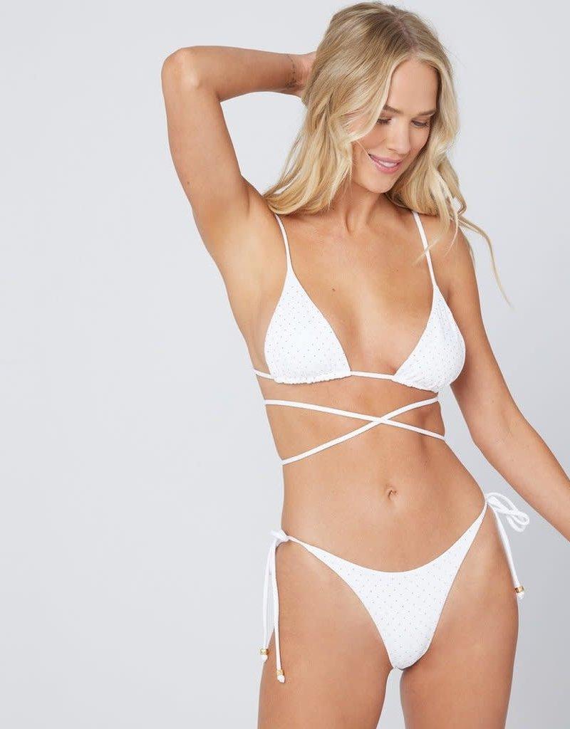 L*Space L*Space Studded Kara Bikini Top