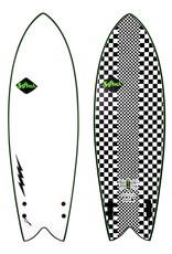 Softech Softech Kyuss Fish 5'8 Checkered