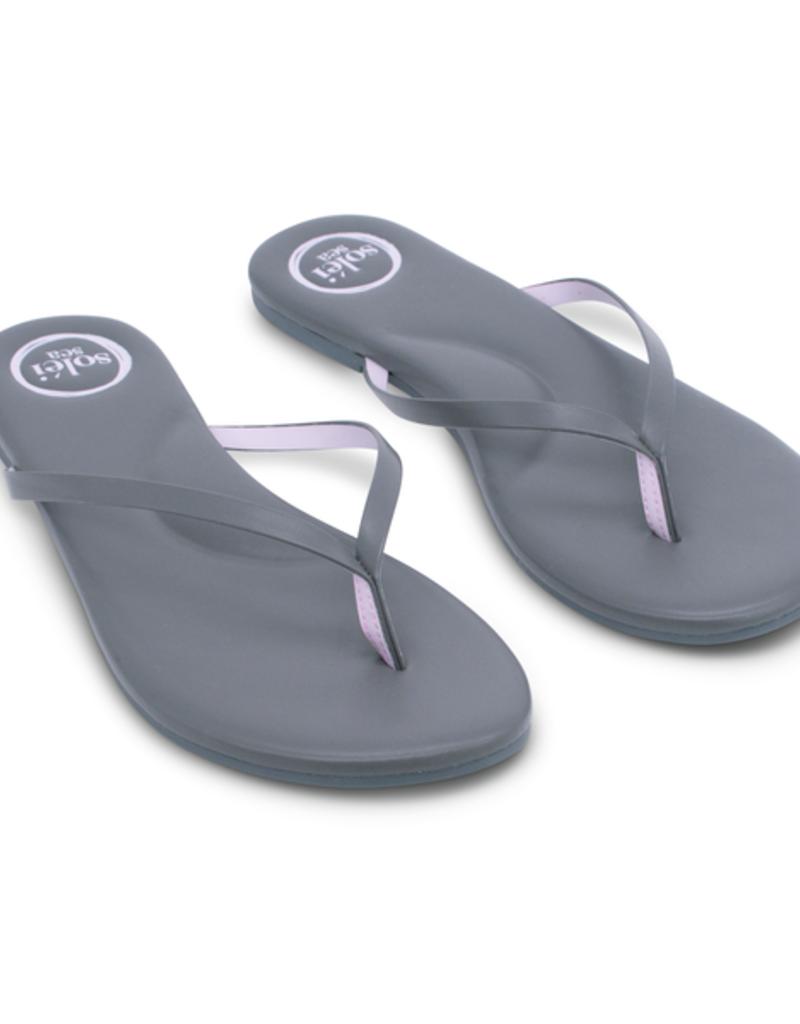 Solei Sea Solei Sea Indie Grey & Pink Sandal