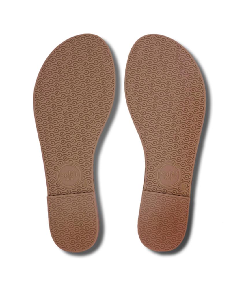 Solei Sea Solei Sea Indie Metallic Silver Sandal
