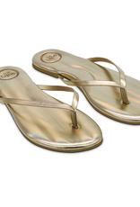 Solei Sea Solei Sea Indie Metallic Gold Sandal