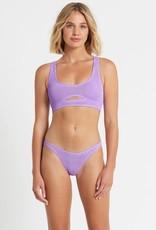 Bond-Eye BOUND By Bond-Eye The Sasha Crop Bikini Top Lavender