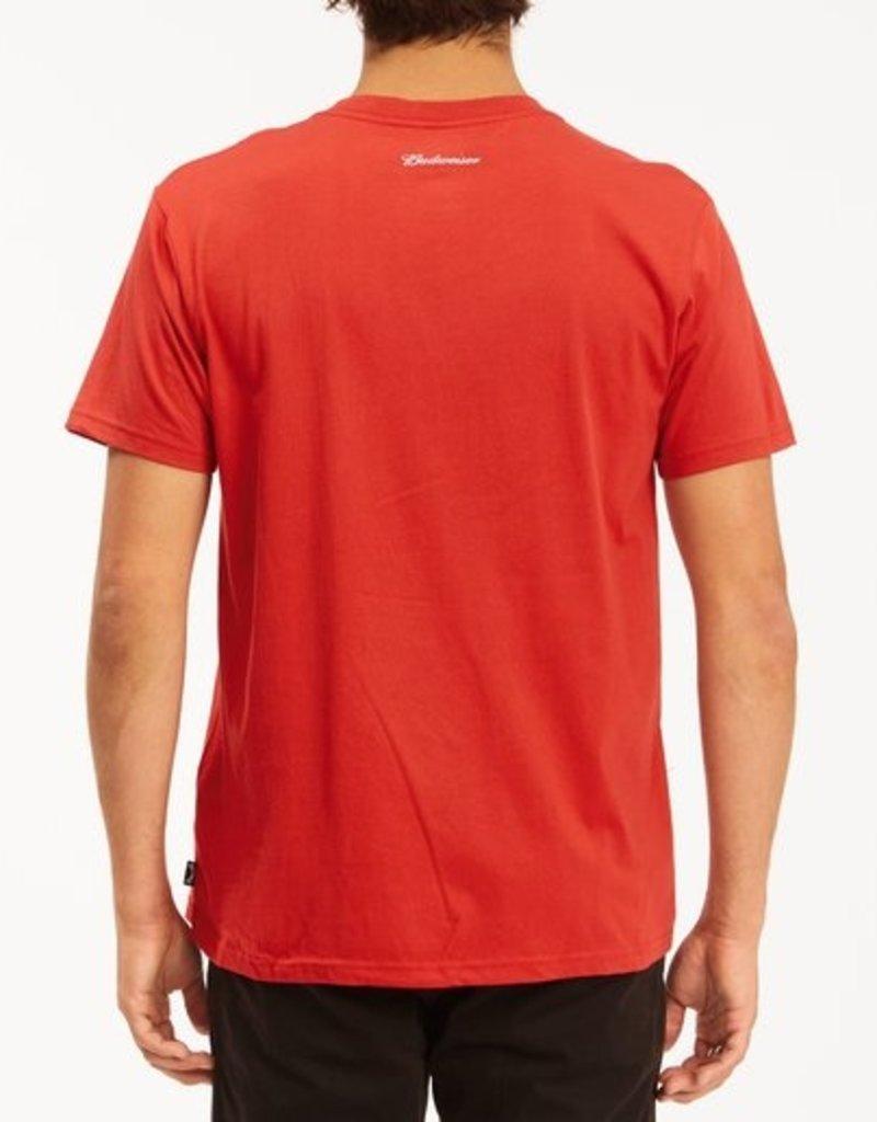 Billabong Billabong Budweiser Bow Short Sleeve T-Shirt