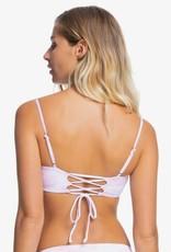 Roxy Roxy Sea & Waves Reversible Bandeau Bikini Top