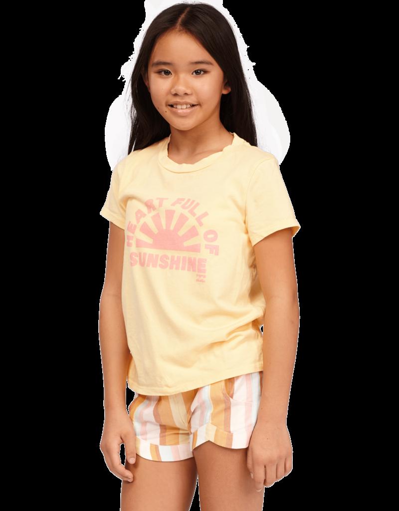 Billabong Billabong Girls Heart Of Sunshine T-Shirt