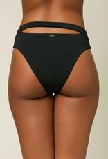 O'Neill O'Neill Maxwell Saltwater Solids Hi-Waist Bikini Bottom