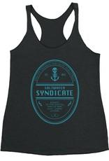 Saltwater Syndicate Saltwater Syndicate Beer Logo Racerback Tank Top