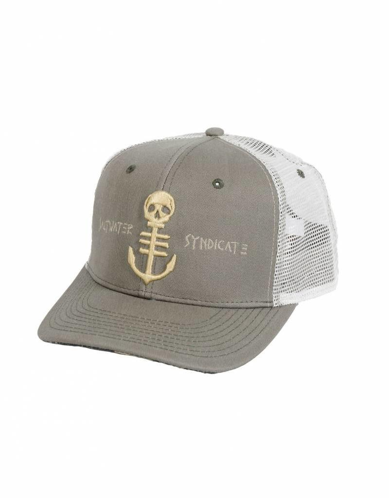 Saltwater Syndicate Saltwater Syndicate Digi-Camo Trucker