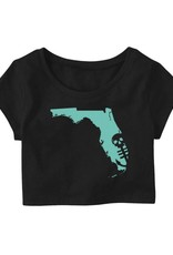 Saltwater Syndicate Saltwater Syndicate Florida Crop Top
