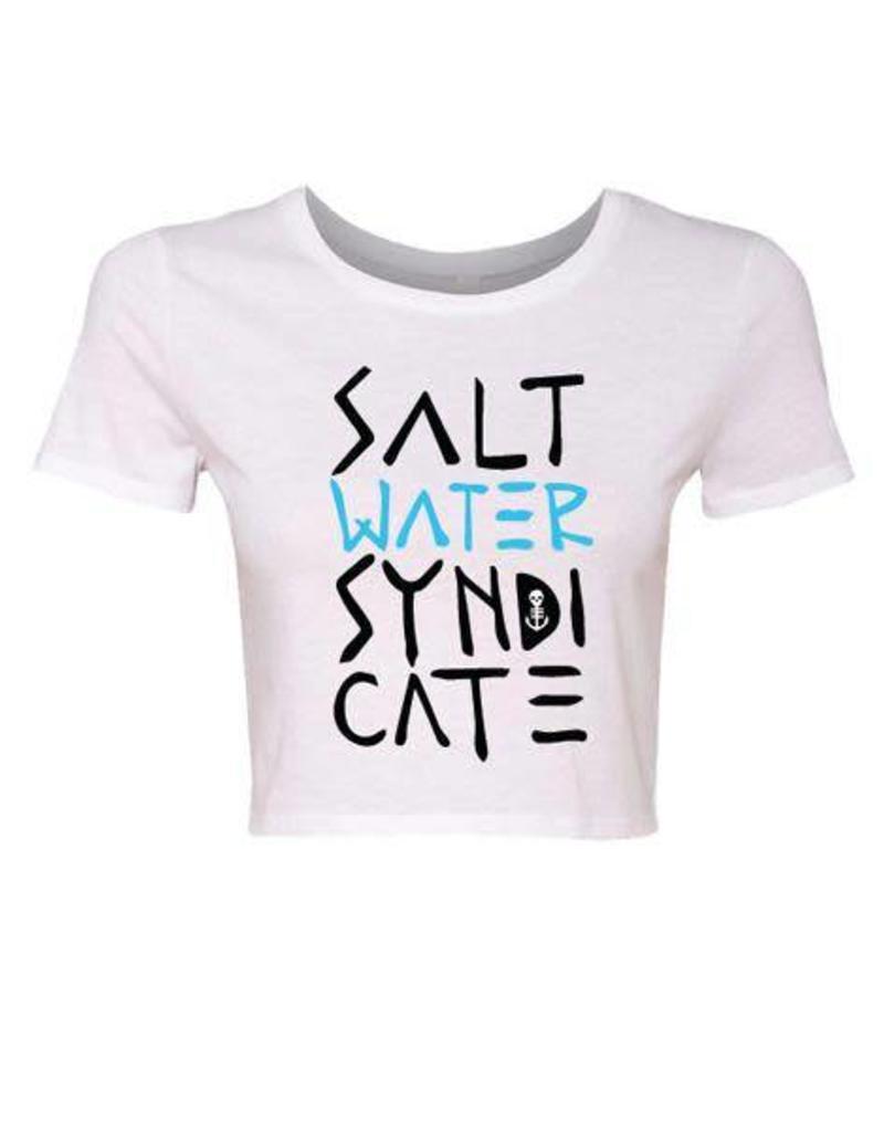 Saltwater Syndicate Saltwater Syndicate Stacked Crop Top