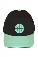 Old Naples Surf Shop ONSS Circle Logo Trucker Hat