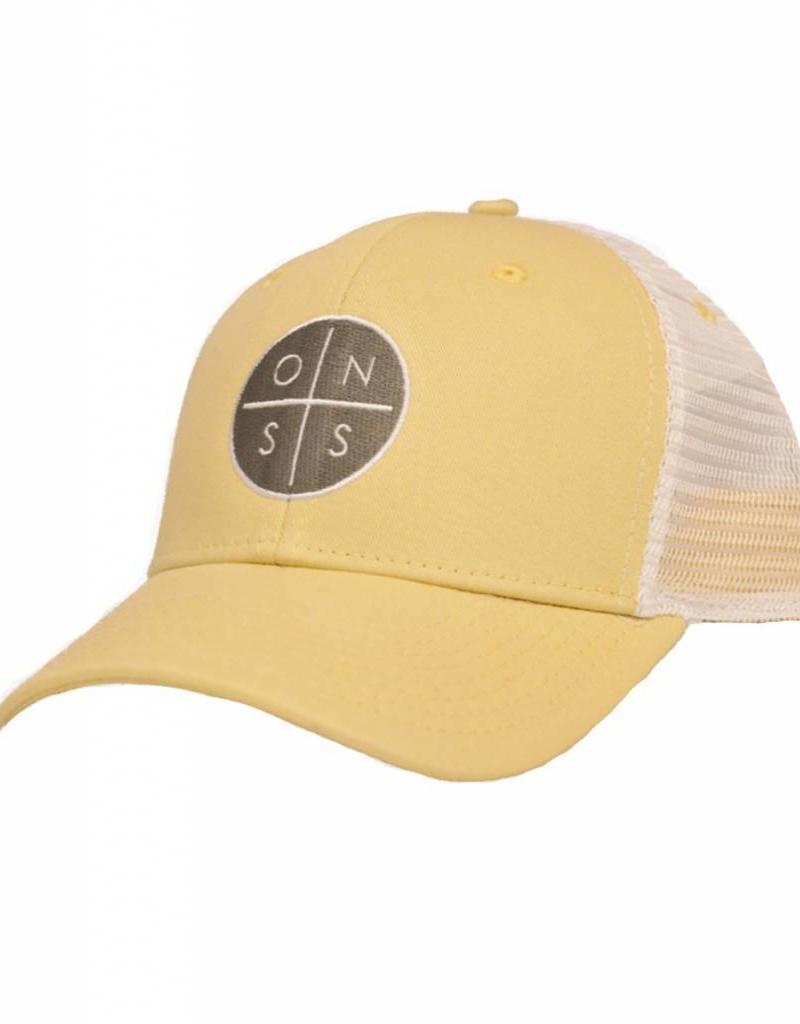 7e5148228da ONSS Circle Logo Trucker Hat - Old Naples Surf Shop - Old Naples ...