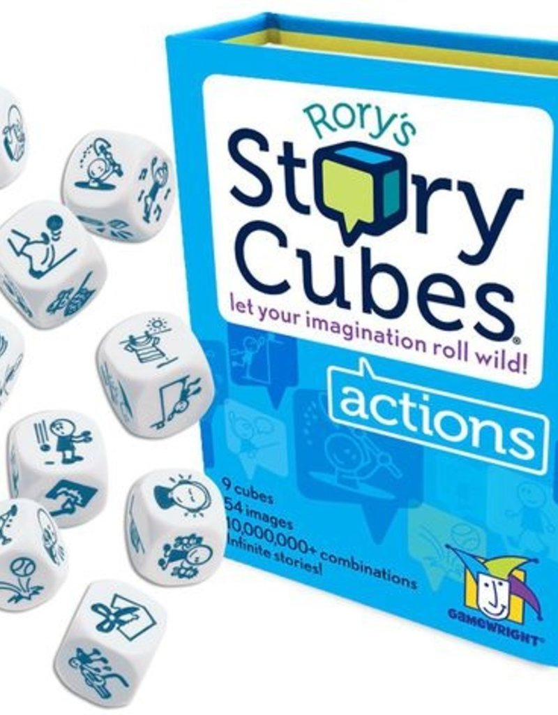 Rory's Story Cubes: Actions