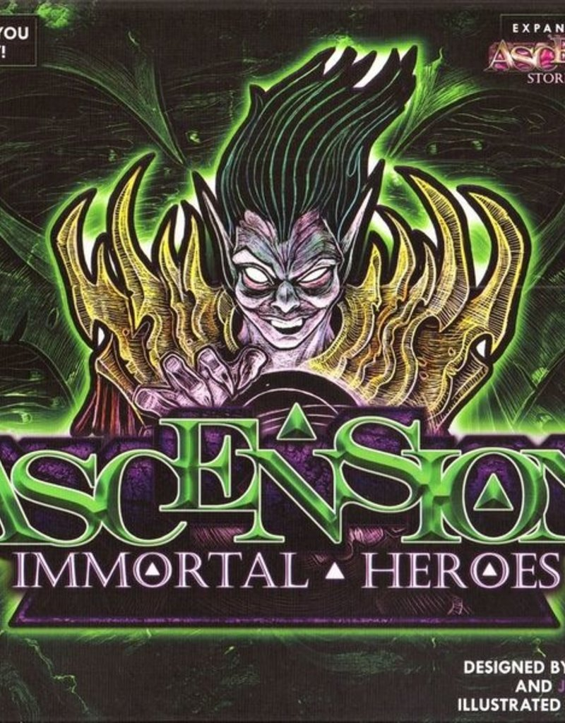 Ascension: Immortal Heroes Expansion