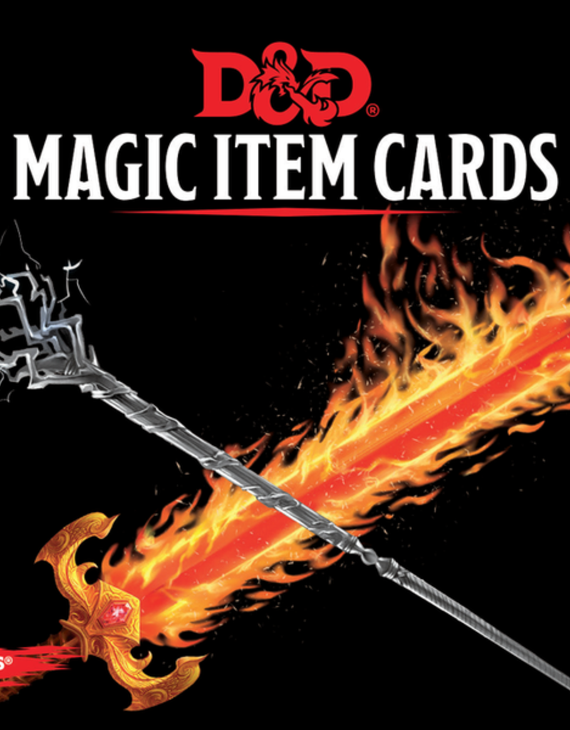 Dungeons and Dragons: Magic Item Cards
