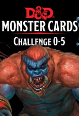 Dungeons and Dragons: Monster Cards 0-5