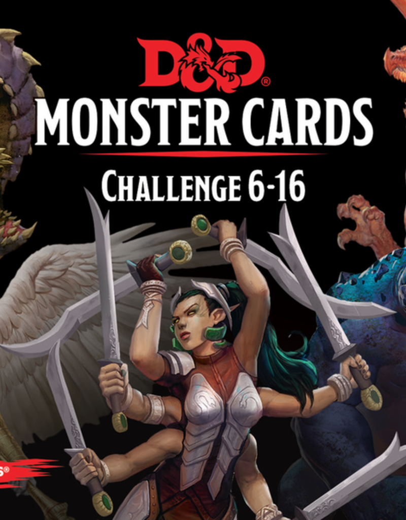 Dungeons and Dragons: Monster Cards 6-16