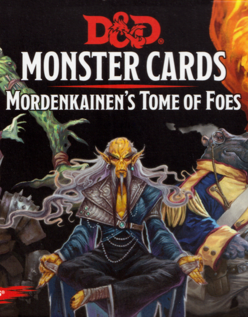Monster Cards- Mordenkainen's Tome of Foes