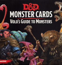 Dungeons and Dragons: Monster Cards- Volo's Guide to Monsters