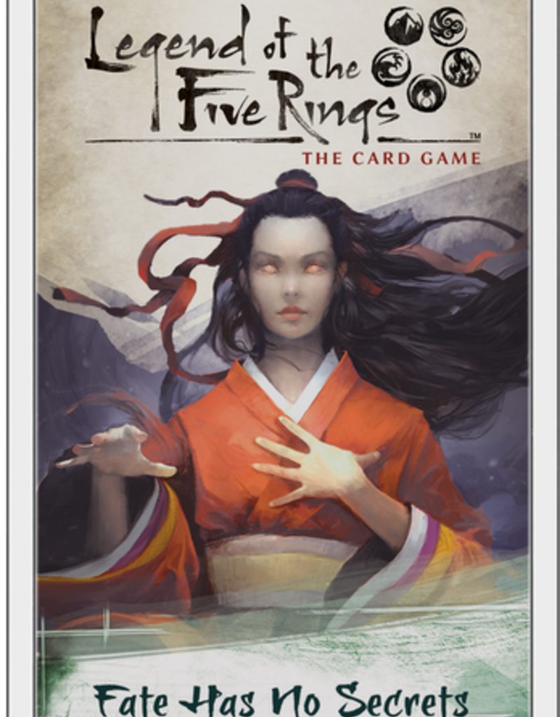 Lengend of the Five Rings: Fate Has No Secrets