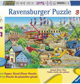 Busy Building - 24 Piece Puzzle