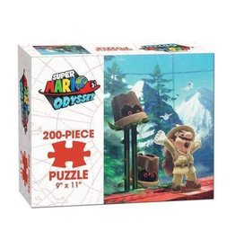 Mario Odyssey: Wooded Kingdom - 200 Piece Puzzle