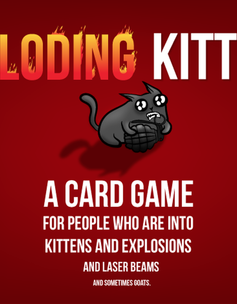 Exploding Kittens First Edition (Limited)
