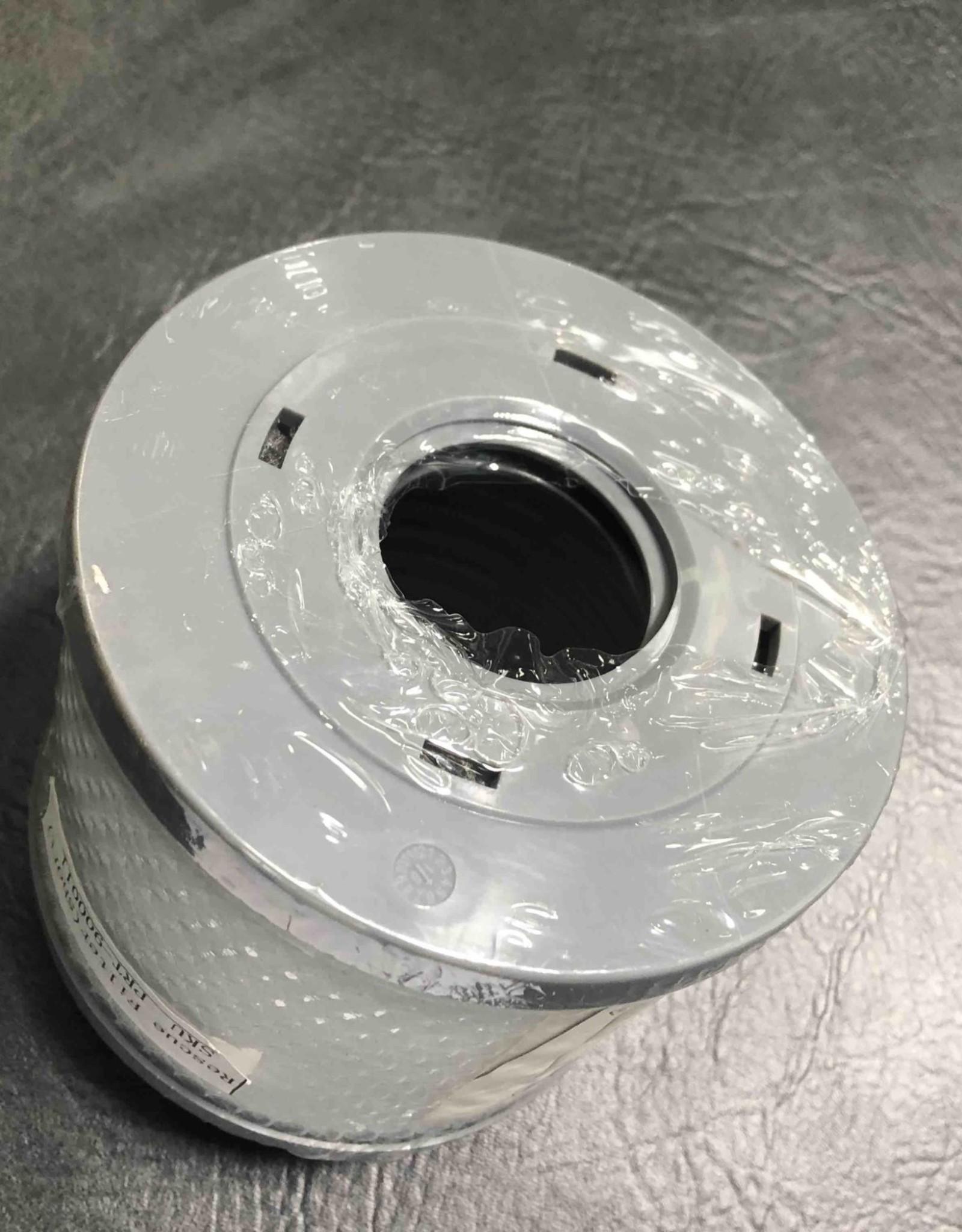 Blue Falls Manufacturing Silver Sentinel Short Filter Threaded PRT-900011