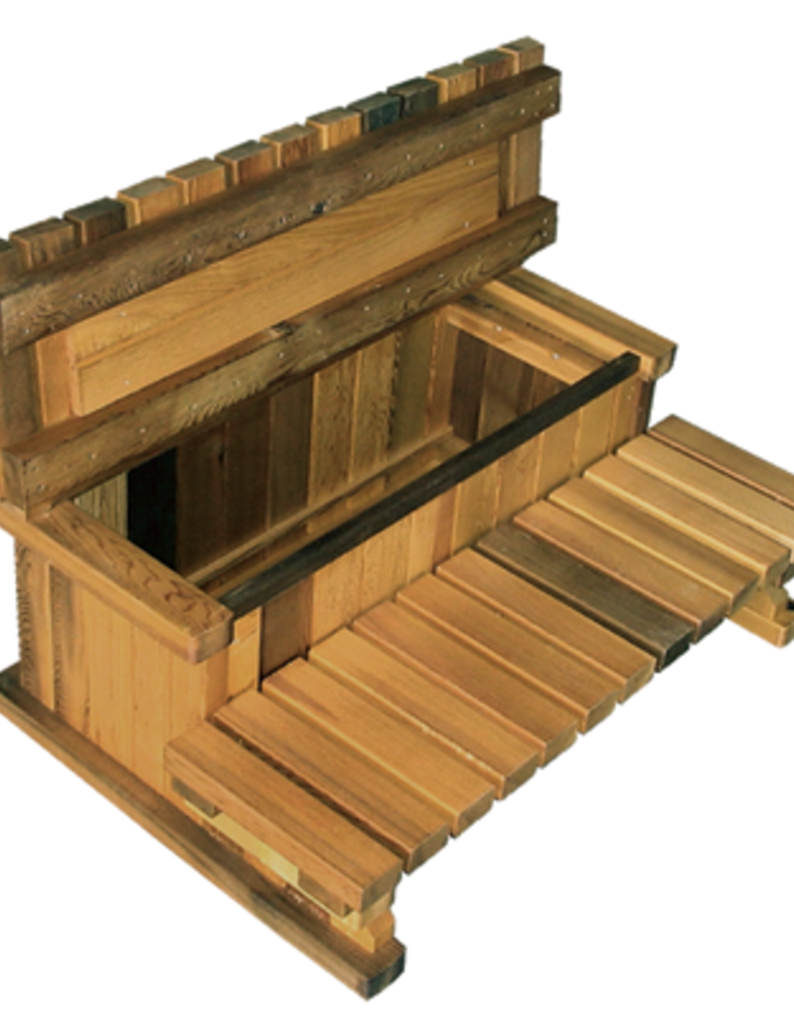 "Visscher Storage Step 36"" 2-Tier Cedar GAZ-150050"