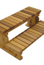 "Visscher Step 36"" 2-Tier Cedar Floor Model GAZ-129669"