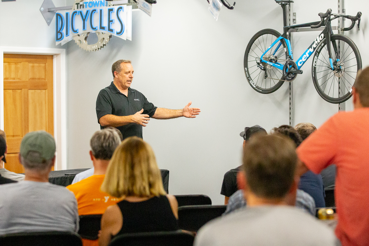 Jim Manton Seminar on Bicycle Fit and Aerodynamics