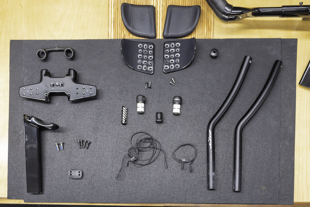 P5 Disc EX10 tilt adjustable aerobar parts