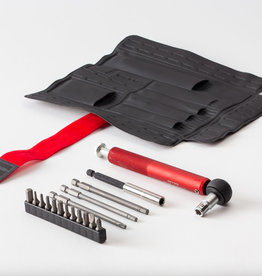 Effetto Mariposa Giustaforza II 2-16Nm Pro Deluxe Torque Wrench set, includes Hex and Torx bits