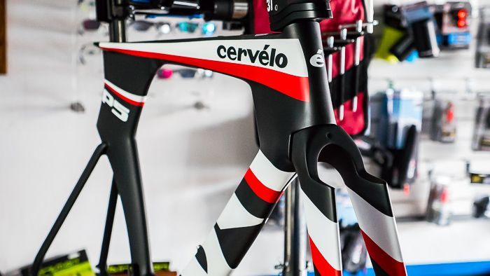 Cervelo Cycles Cervelo P5 Six, Blk/Red