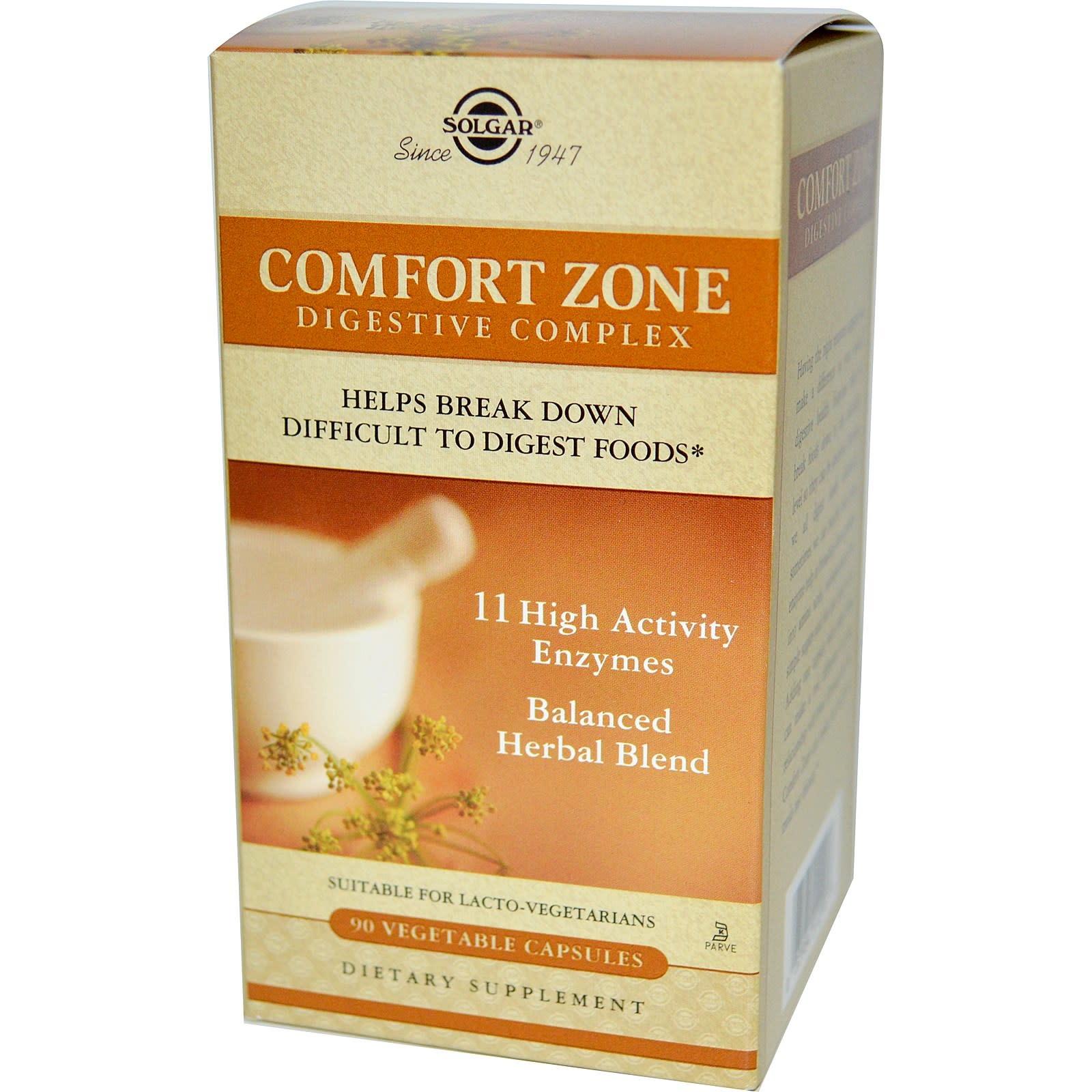 Solgar: Comfort Zone Digest 90