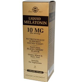 Solgar: Melatonin Liquid 10mg