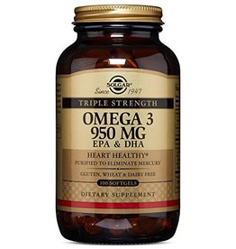 Solgar: Omega 3 ''950'' Softgels 100 caps