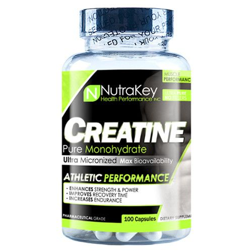 Nutrakey NutraKey: Creatine 1800mg 100c