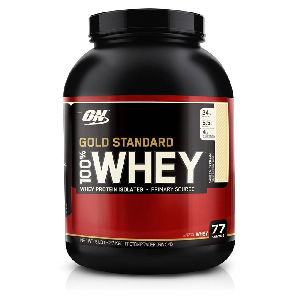 ON ON:  Whey 5 Lb Vanilla Ice Cream