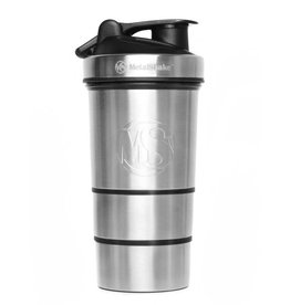 Metal Shake Shaker: Metal Cool Steel